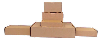 Cardboard Boxes Royal Mail Small Parcel Boxes, Postal Packing, No Tape Assembly