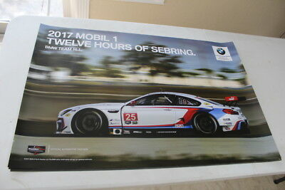 ALMS Camel GT 2017 100 Years of BMW Competition Racing LeMans Poster