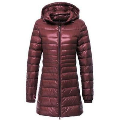 Women's Packable Ultralight Hooded Weight Down Jacket Coat S-6XL uniqlo's style