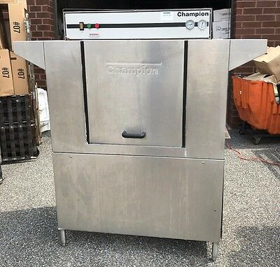Champion 44Ws Dishwasher Great Working Order-Needs Cleaning