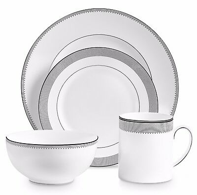 New Vera Wang for Wedgwood Vera Wang Grosgrain 4 Piece Place Setting - Low price