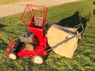 Troy Bilt Chipper Shredder Lawn Vacuum 5hp Model 47282 Self Propelled