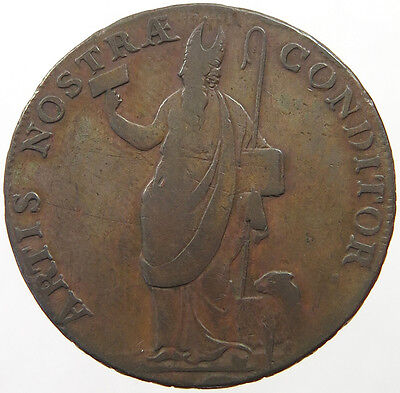 GREAT BRITAIN HALF PENNY 1791 LEEDS   #oe 263
