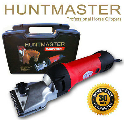 Horse Clippers Huntmaster Ex Demo's with 2 x brand new sets of blades