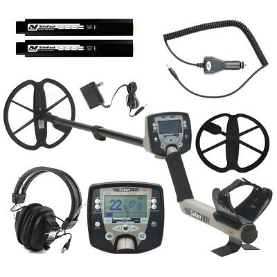 Minelab Safari Pro Pack Metal Detector Special with Minelab 12V NiMH Car Charger
