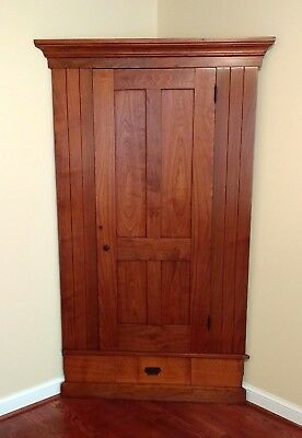 Antique Cherry Corner Cabinet (local pick up only)