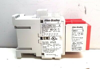 New Allen-Bradley 100S-C09Ej05Bc Series A Safety Contactor