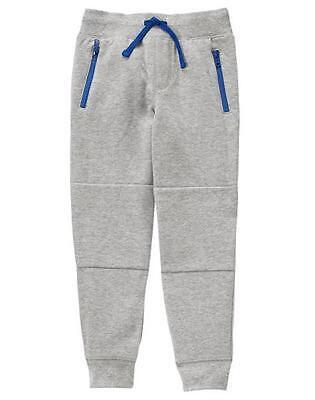 NWT Gymboree Boys Pull on Pants Sweatpants Jogger Ombre Navy Blue to Gray S,M,L