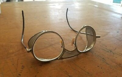 Vintage Bausch & Lomb Safety Glasses Motorcycle Goggles Steampunk Burning Man