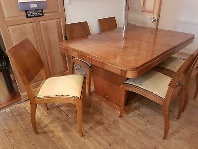 Beautiful French Antique Table And Chairs