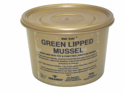 450g Gold Label Green Lipped Mussel pain free protect joints cartilage Horse Dog