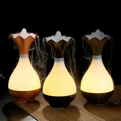 LED USB Essential Oil Ultrasonic Air Humidifier Aromatherapy Diffuser Atomizer