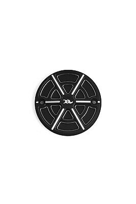 Ken's Factory Victory Octane Stator Badge Cover Semi Gloss Black