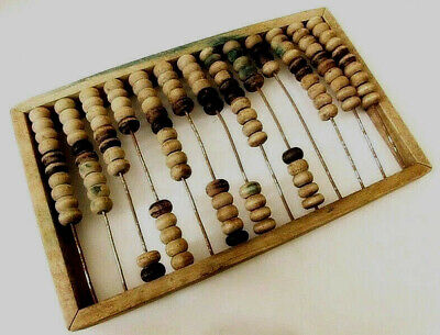 Large Very Old Vintage USSR Russian Wooden Abacus 13 Rows
