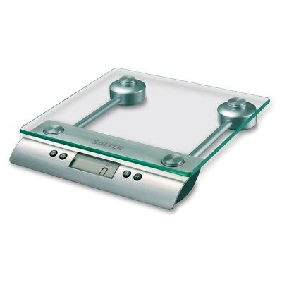 Salter 3003BD Aquatronic Glass Electronic Kitchen Food Scale NEW