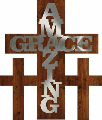 DXF CNC dxf for Plasma Router Vector Amazing Grace 1 Man Cave Wall Decor