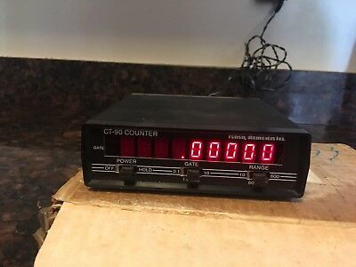 Ramsey Model CT-90 Frequency Counter 600MHz- 3 Ranges- Portable-3 Gate X
