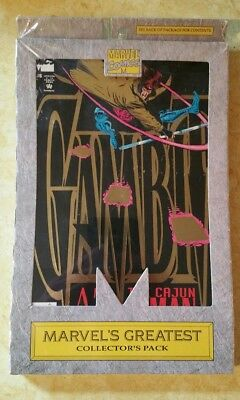 Marvel's Greatest Collector's Pack Gambit 1 2 3 & 4 Sealed Vintage Comics 1993!