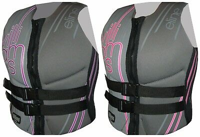 WILLIAMS Ladies Womens Water Ski ELINE Buoyancy Neoprene Vest NEW