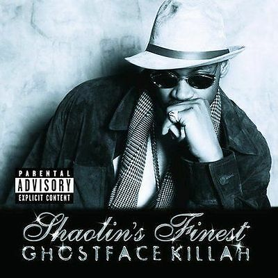 Ghostface Killah Lot 2 CD: Shaolins Finest, Wizard of Poetry in Emerald City