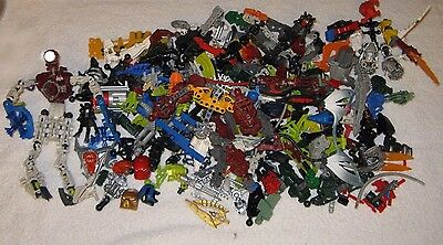 Lego 1//2LB Bionicle Hero Factory Mix-Bodys Arms /& Legs-Clean /& Sanitized Masks