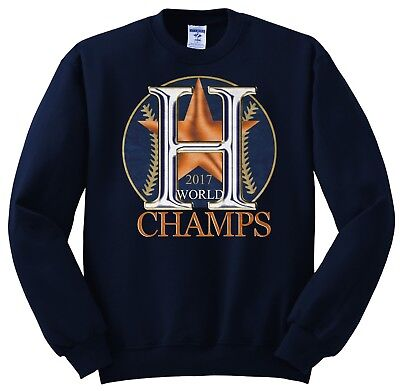 Astros Series Champions Houston World Series 2017 Champs Sweat Shirt