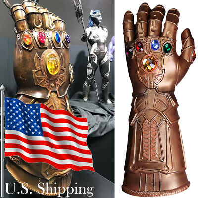 Thanos Infinity Gauntlet Avengers Infinity War Thanos Glove Prop New