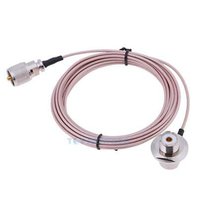 5m/16.4ft Extension Coaxial Feeder Cable for Mobile Radio Antenna Car Radio TN2F