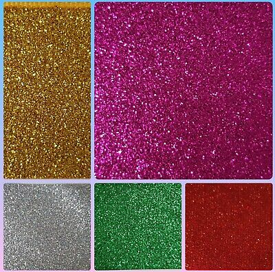 """1M GLITTER GROSGRAIN RIBBON...38mm  1.5"""" ...CHOICE OF COLOUR...BOWS CRAFTS CAKES"""