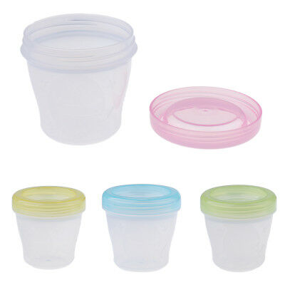 Baby Food Containers Reusable Stackable Freezer Safe Storage Sups Milk Bags