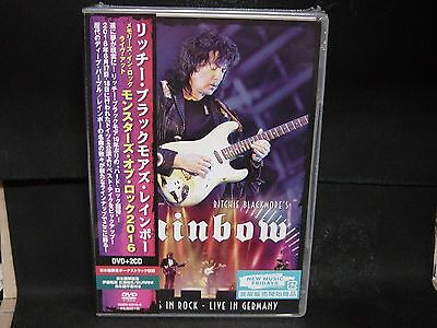 RITCHIE BLACKMORE'S RAINBOW Memories In Rock - Live In Germany JAPAN DVD + 2CD