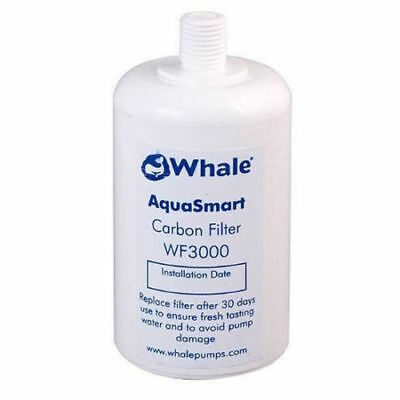 Whale Aquasmart Clear Water Carbon Filter WF3000 - Fresh Taste & Protects Pump