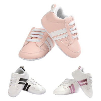 Toddler Newborn Cute Casual Shoes Kids Soft Sole Canvas Sneaker 0-18 Months