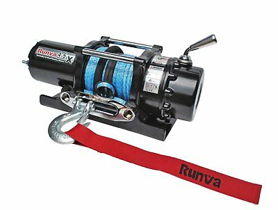 Runva 4.5X 12V with Synthetic Rope 10872433106