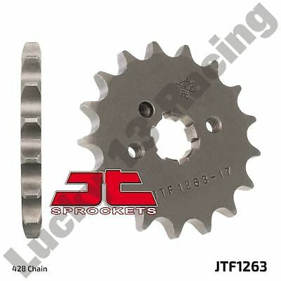 JT 17T front sprocket for Yamaha DT RD RS SR TY XT YBR YZ 80 100 125 175 200