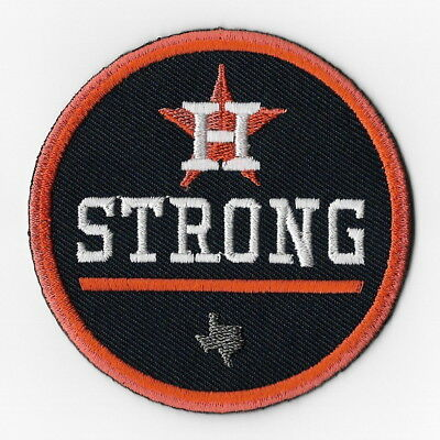 Houston Astros Strong MLB Iron on Patches Embroidered Applique Badge Emblem