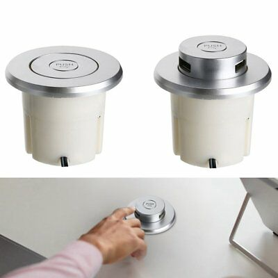 Tabletop Pop Up Usb Socket Outlet 2 Outlets Ports Safe For