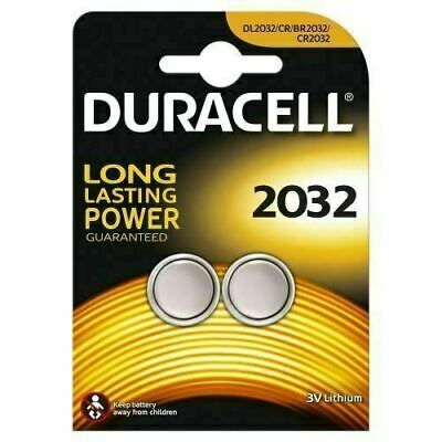 Duracell CR2032 3V 2032 Lithium  Twin Button Battery Coin Cell  DL/CR