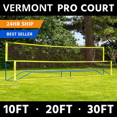 Vermont ProCourt Mini Tennis & Badminton Combi Net | 10ft, 20ft & 30ft Available