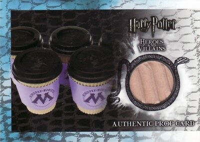 Harry Potter Heroes & Villains Ministry Munchies Coffee Cup P10 Prop Card