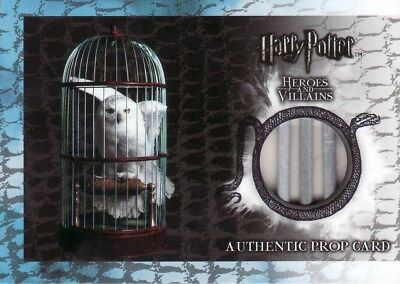 Harry Potter Heroes & Villains Hedwig's Cage P7 Prop Card