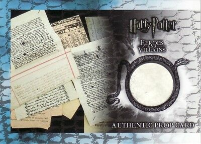 Harry Potter Heroes & Villains Papers from the Weasley House P4 Prop Card