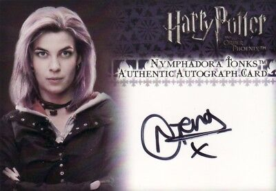 Harry Potter Order of the Pheonix Update Natalia Tena as Nymphadora Tonks Auto