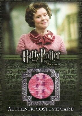 Harry Potter Order of the Pheonix Dolores Umbridge's C10 Costume Card