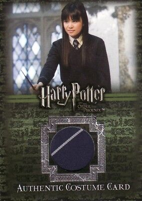 Harry Potter Order of the Pheonix Cho Chang's C7 Tie Costume Card