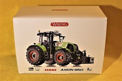 WIKING 1:32 Metall CLAAS AXION 850 mit Frontgewicht
