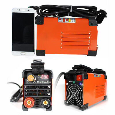 Handheld Mini MMA Electric Welder 220V 20-250A Inverter ARC Welding Cutters New