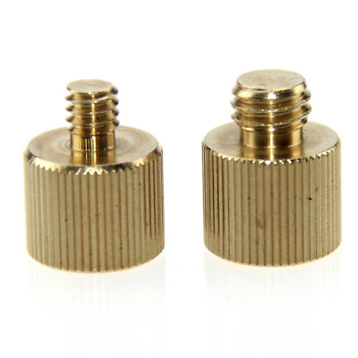 """CAMVATE Thread Adapter 1/4""""-20 Female to 3/8""""-16 Male & 3/8""""-16 Female to 1/4""""-2"""