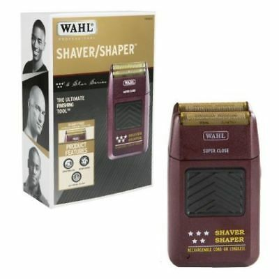 WAHL Professional 5-Star Cord/Cordless Rechargeable Shaver/Shaper #8061 - NEW!