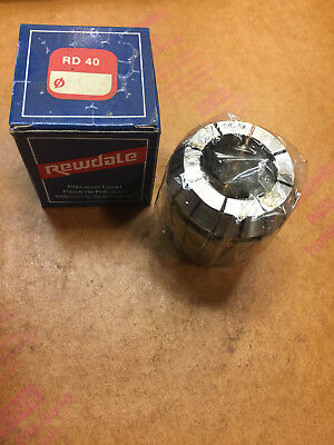 Rewdale RD 40 Collet, RD40, Size 29/32 CNC Drilling Tapping